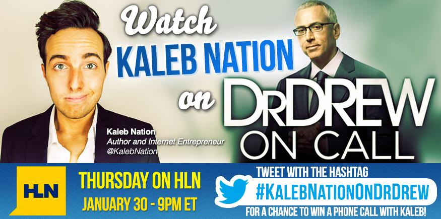 Kaleb Nation On Dr. Drew On Call