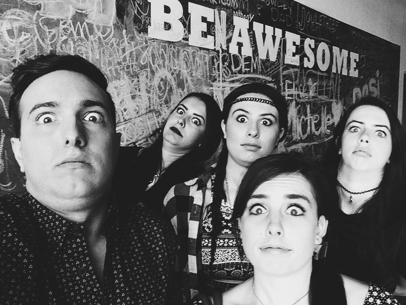 Kaleb Nation with Cimorelli for AwesomenessTV